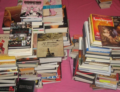 Sample of the Book Pile