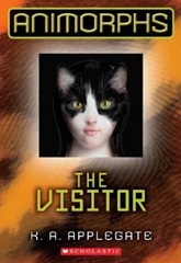 Animorphs The Visitors Cover