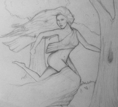 Daphne Fleeing Apollo