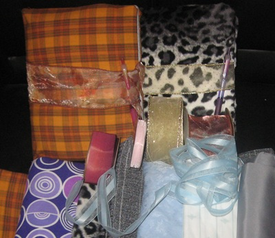 Padded Journals & Fabric